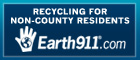Recycling for Non-County Residents: Earth911.com