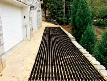 Permeable Pavement Install 1