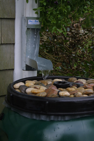 Rain Barrel Top
