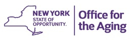 NYS Office for the Aging logo
