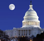 Picture of US Capitol Building.