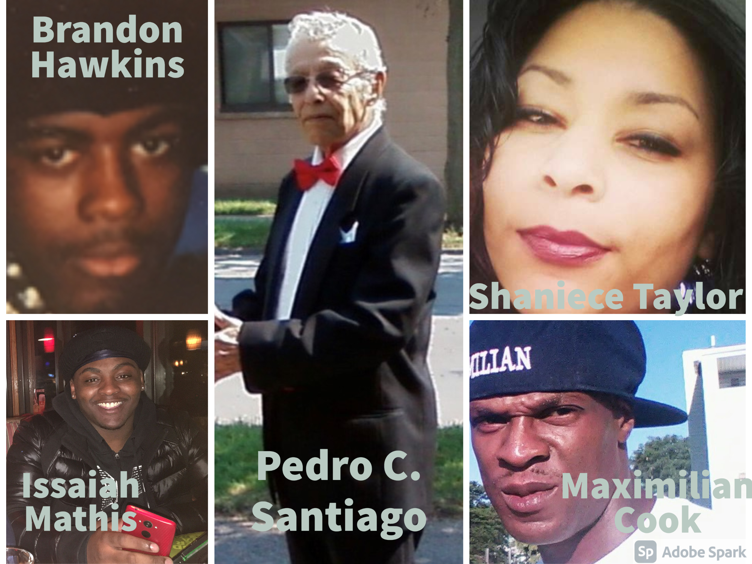 Collage of Victims of Homicide