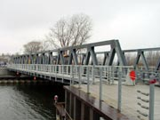 Picture of the Irondequoit Bay Outlet Bridge.