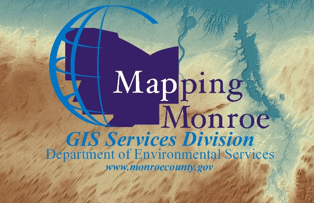 Mapping Monroe, GIS Services Division, Department of Environmental Services logo