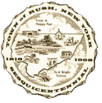 Town of Rush logo