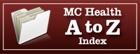 MC Health A to Z Index