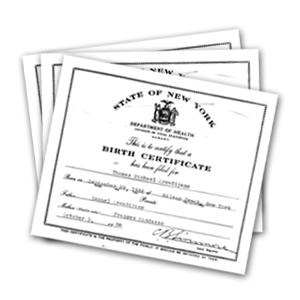 Birth & Death Certificates Graphic