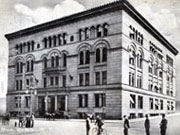 Historic picture of the current County Office Building.