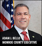 Adam Bello, Monroe County Executive