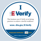 I E-verify Logo