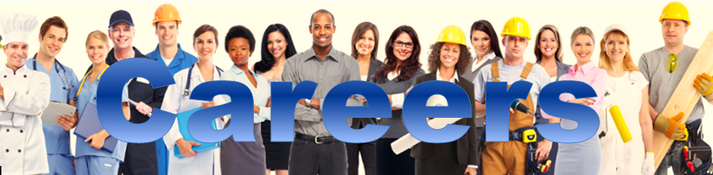 picture of happy employees from many careers