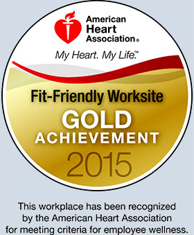 image of Fit-Friendly Worksite Gold Level 2015 award