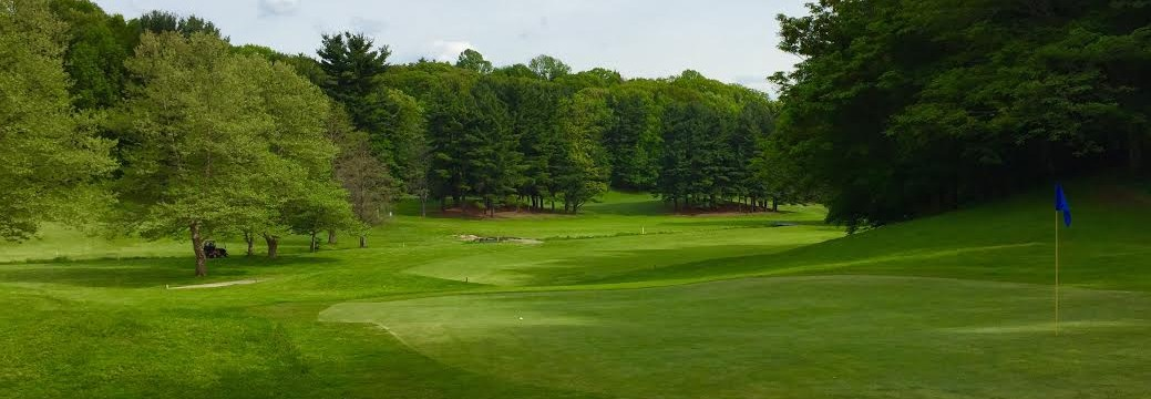 View of a green at Durand Eastman.