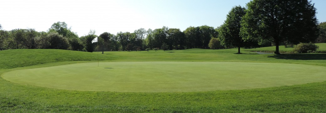 View of a green at Genesee Valley