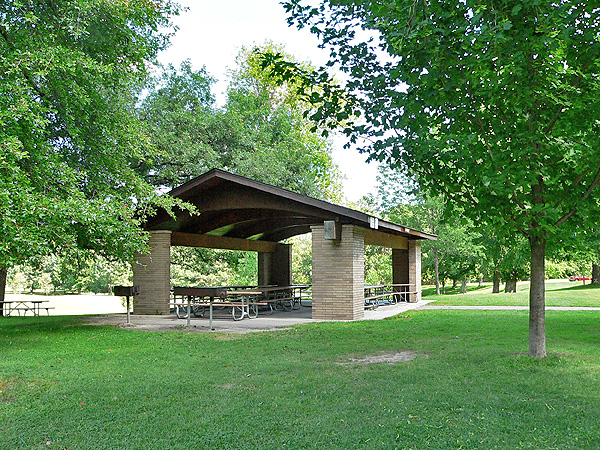 Picture of shelter at Genesee Valley Park