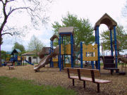 Picture of playground at Ontario Beach Park.