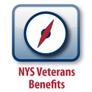 NYS Veterans Benefits graphic
